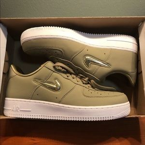 new products 177a2 d32a8 Nike Shoes - Women s Nike 9.5 Olive Air Force 1  07 Premium LX